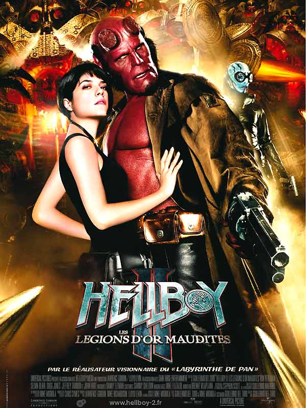 Hellboy II les légions d'or maudites affiche