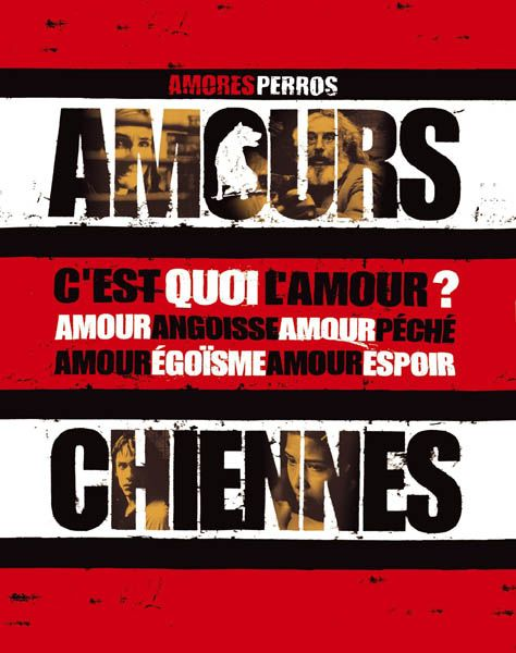 Amours Chiennes affiche