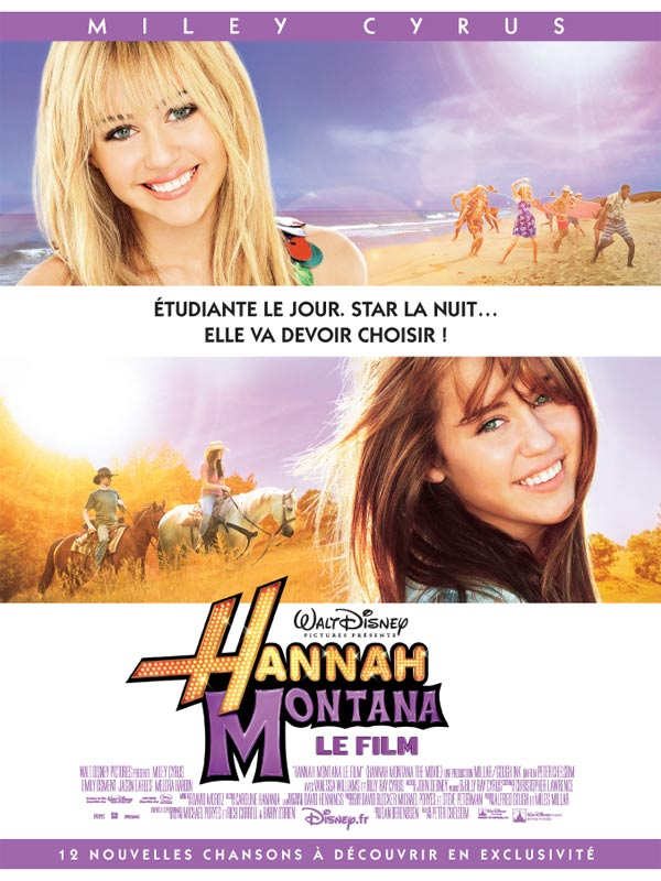 hannah montana le film voir les séances de hannah montana le film
