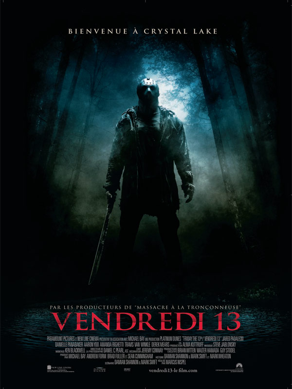 Vendredi 13 critique bande annonce affiche dvd blu for Telecharger film chambra 13
