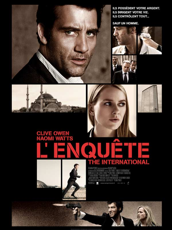 L'Enquête - The International  [DVDRIP] [TRUEFRENCH] [MULTI]