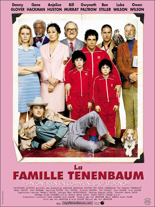 la famille tenenbaum critique bande annonce affiche dvd blu ray t l chargement streaming. Black Bedroom Furniture Sets. Home Design Ideas